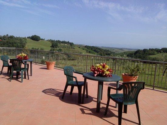 Terrazza panoramica - Picture of Borgo degli Orti, Montaione ...