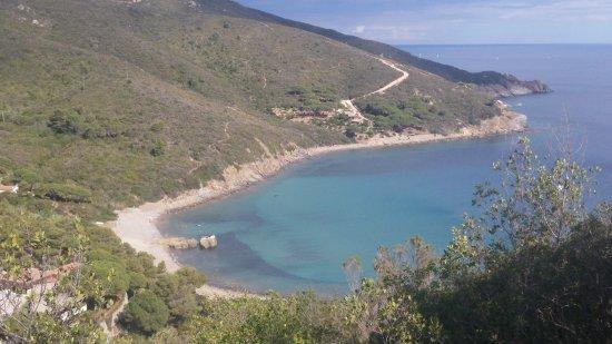Campo nell'Elba, Olaszország: Vista della spiaggia
