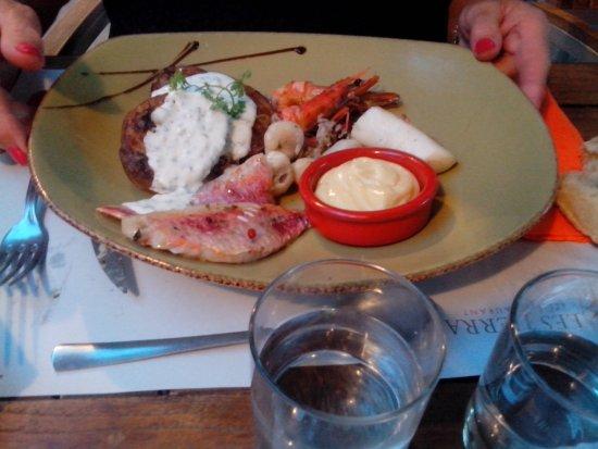 Restaurant Traditionel Les Terrasses: assortiment de la mer