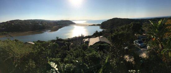 Chintsa, Zuid-Afrika: View from breakfast room
