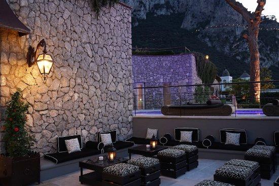 Villa Marina Hotel & Spa : Bar Esterno Night