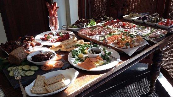 Mkuze, Sudáfrica: Amazing breakfasts