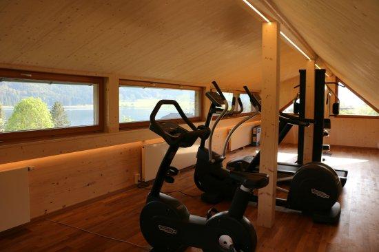 Ferienhof Obergasser & Pension Bergblick: Fitnessraum