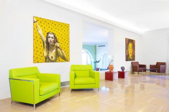 Art Hotel Gran Paradiso: Lobby