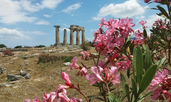 Maratón, Grecia: Temple d'Apolon à Corinth