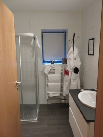 Reykjavik4you Apartments Hotel: Stand-up shower and a heated towel rack