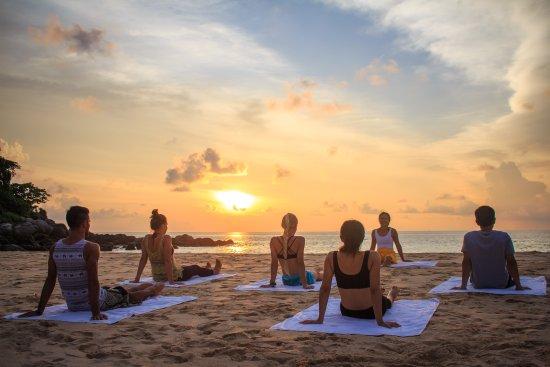 Belove Yoga Rooftop Studio Sunset Beach