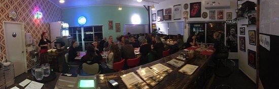 Te Puke, Nieuw-Zeeland: Our full house.