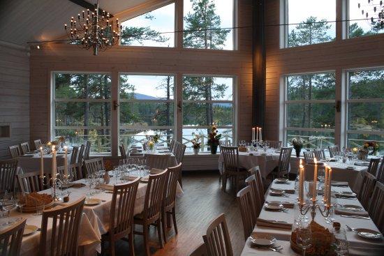 Arrenjarka Mountain Lodge: Restaurant