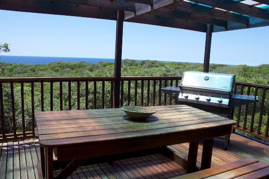 Sodwana, Sudáfrica: Guest House 8-sleeper Outdoor Deck