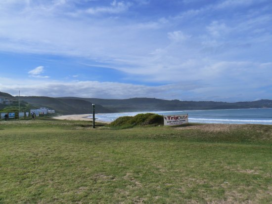 Buffalo Bay: The view towards Brenton on Sea