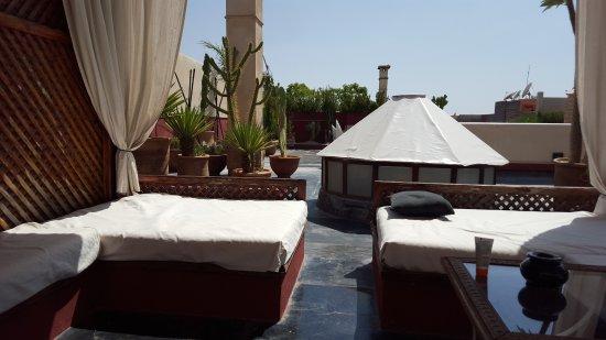 Bellamane, Ryad & Spa: Roof Top Terrace, Sun bathing or shade