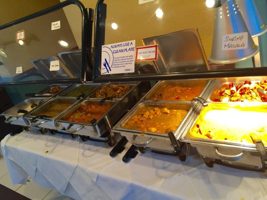 Milan Indian Cuisine Terrific Food Even On The Buffet Upscale Interior Great Service