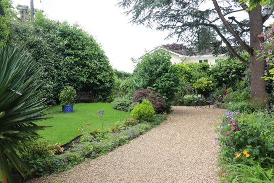 Yatton, UK: Hollybank Bed & Breakfast, details of the garden