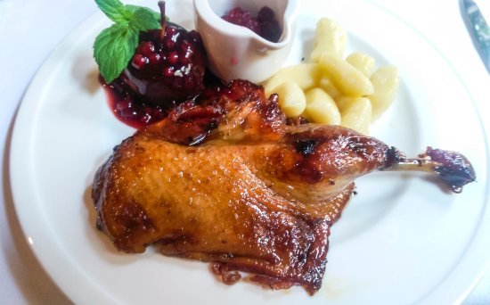 Kuznia Smaku : Kaczka miodowa- The honey duck