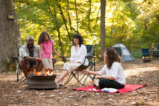 Camping at Gettysburg Campground