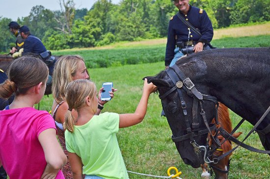 Gettysburg, PA: Horse tours with the National Riding Stables