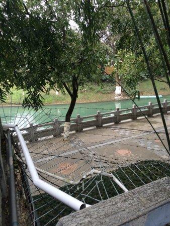 Xiangbishan Park: to prevent non-ticket visitors