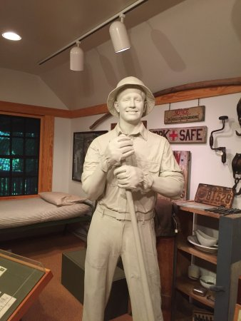 Chesterfield, Wirginia: Visiting the CCC Museum at Pocahontas State Park