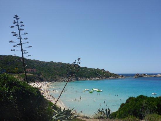 La Terrazza di Lilly : Blick vom Zimmer auf Strand Rena Bianca