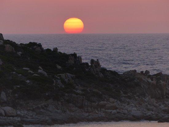Blick vom Strand auf B&B La Terrazza di Lilly - Picture of La ...
