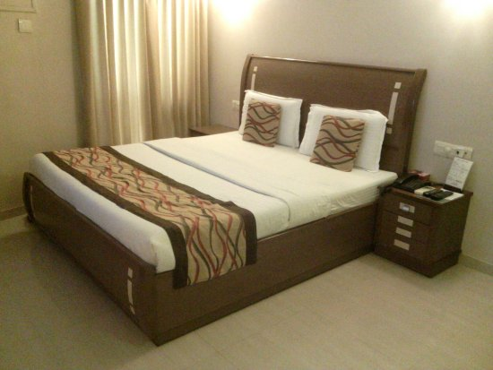 Hotel Accolade: very comfortable bed