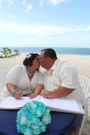 Breezes Resort Spa Bahamas Wedding West Beach