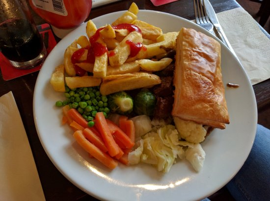 West Midlands, UK: Steak Pie