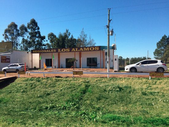 Chajari, อาร์เจนตินา: esta es la entrada del local ubicado sobre la ruta nacional 14 kilometro 335