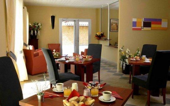 Lissieu, Francia: Dining Area