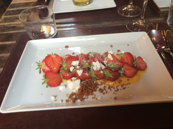 Le Bistrot d'Antoine: Very delicious from starter to dessert ...