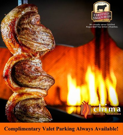Chima Brazilian Steakhouse : Certified Angus Beef Top Sirloin