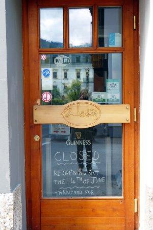 A Bit of Irish: im Juni war Eröffnung nach der Winterpause