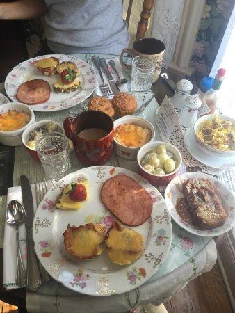 Jefferson, Teksas: Amazing Breakfast by Val!