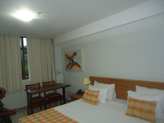 Golden Park Hotel: cama muinto confortável