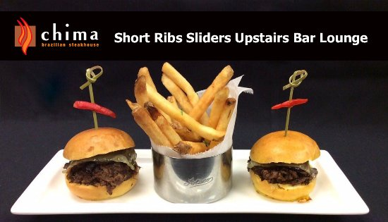 Chima Brazilian Steakhouse: Short Ribs Upstairs Bar Lounge