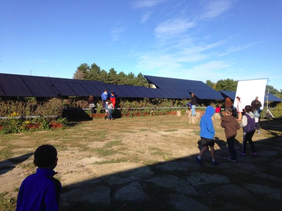Amherst, NY: The Solar Strand at the University of Buffalo's North Campus