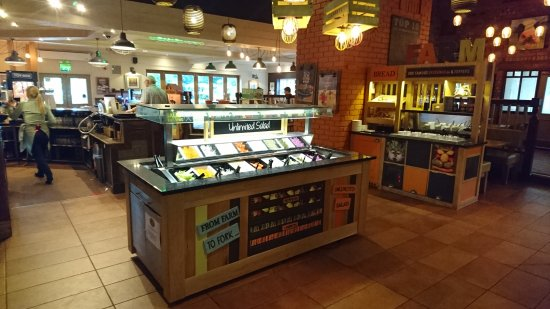 Barlborough, UK: Salad Bar