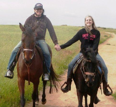 Norco, CA: Romantic Sweet Heart Rides w/S&D Horseback Riding near Corona CA