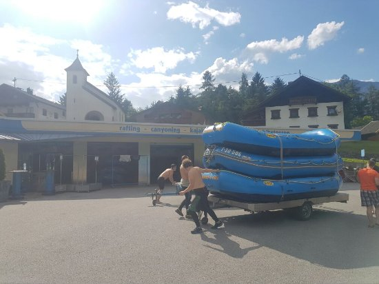 Oetz, Austria: Wasser Craft Rafting Day Tours