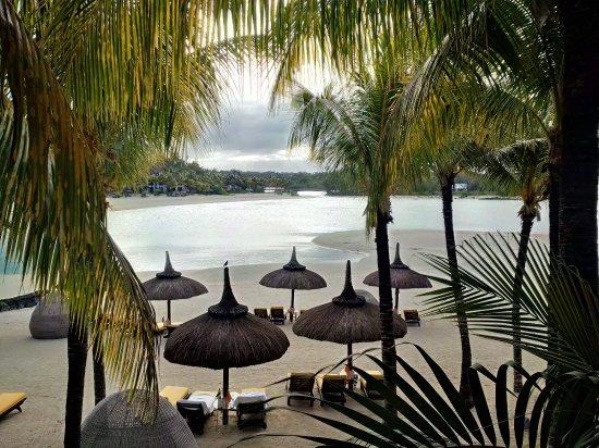 Shangri-La's Le Touessrok Resort & Spa, Mauritius: View from balcony