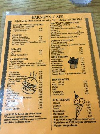 Barney's Restaurant : photo7.jpg