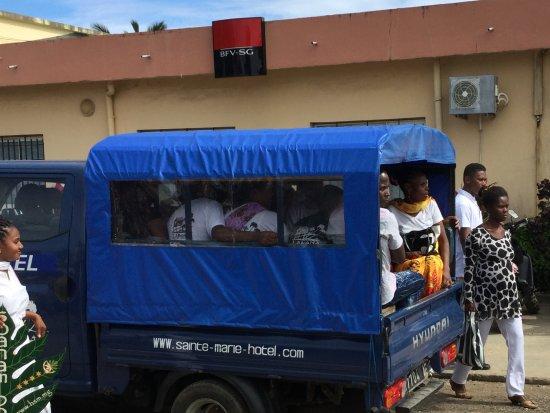 Lakana Hotel : Transport des Hotelpersonals