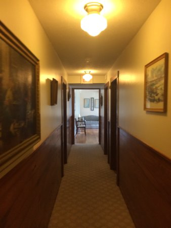 Seaside Inn At Hatteras: Hallway view