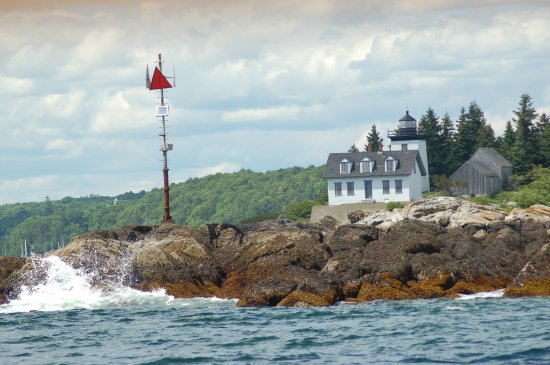 Rockport, ME: light house from the Heron