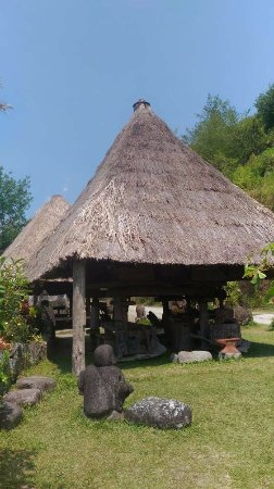 Hiwang Native House Inn : Deux huttes musée
