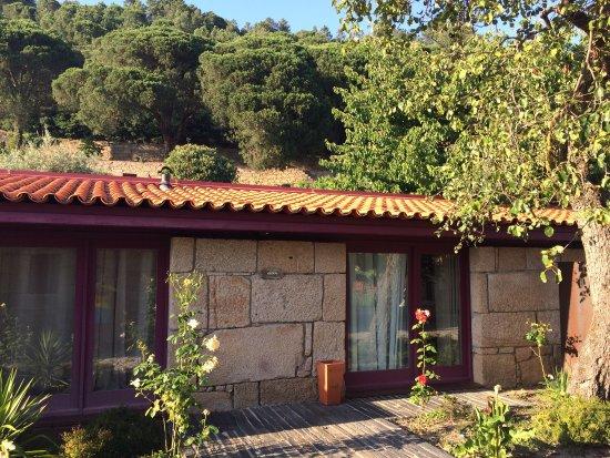 Carrazeda de Ansiaes, Πορτογαλία: Appartement, zwembad en het prachtige perceel.