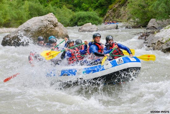 rafting dans le Verdon avec Aqua Viva Est