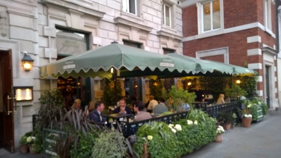 THE IVY MARKET GRILL, London Omdömen om restauranger