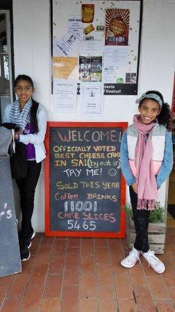 Wilderness, Güney Afrika: Coffee sales